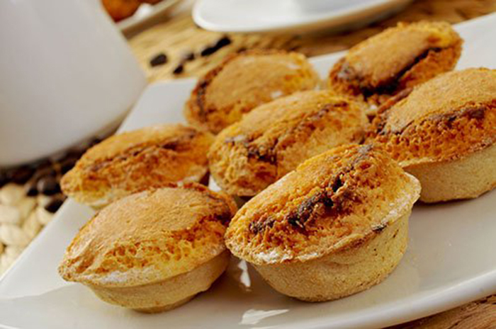 Pasteis de Feijao Dulce Portugués