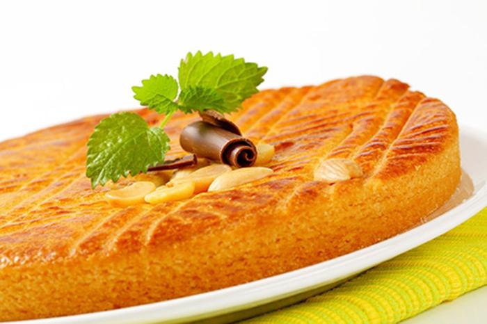 Pastel de Almendras y Mantequilla Boterkoek