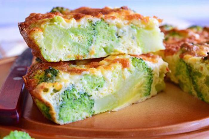Pastel de Brócoli