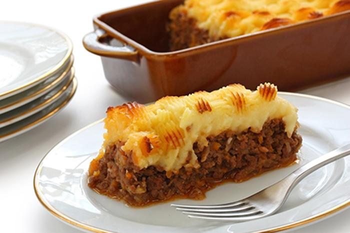 Pastel de Carne Inglés Cottage Pie