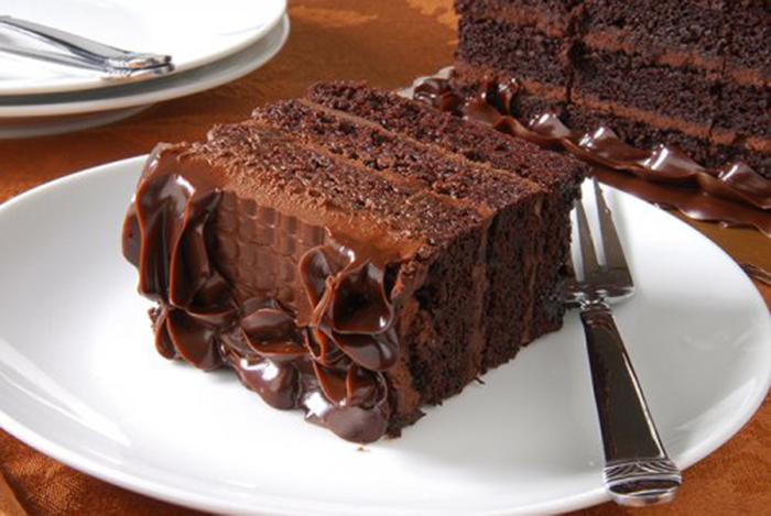 Pastel de Chocolate Negro