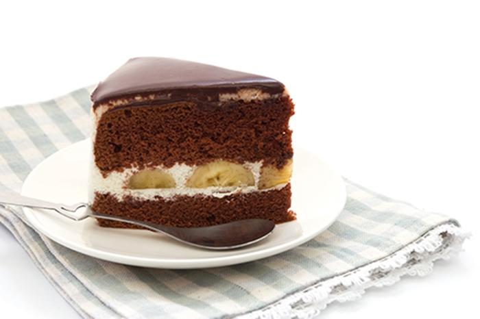 Pastel de Plátano, Nata y Chocolate