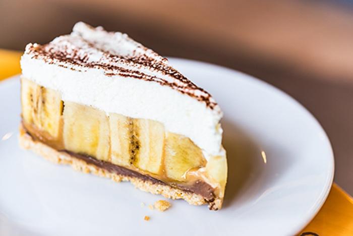 Pastel de Plátano y Toffee