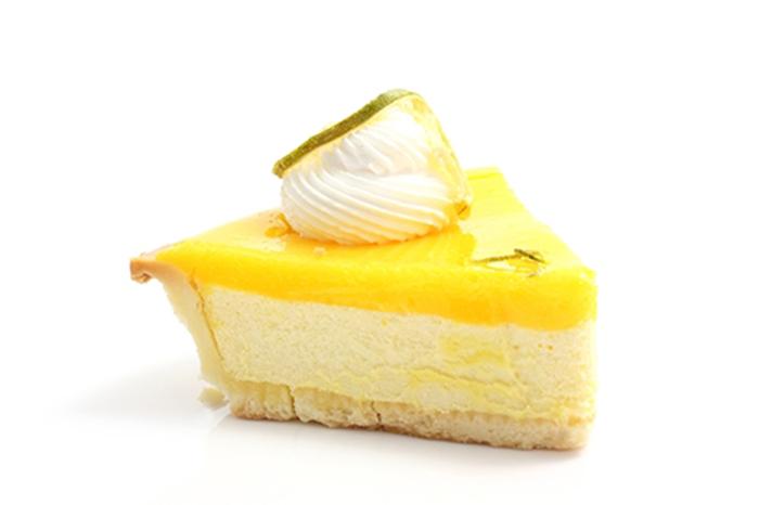 Pastel de Queso y Crema de Limón