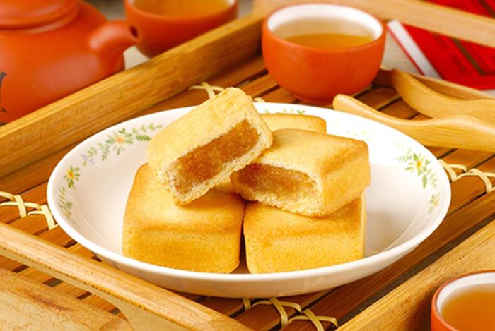 Pastelitos de piña Típicos de Taiwan