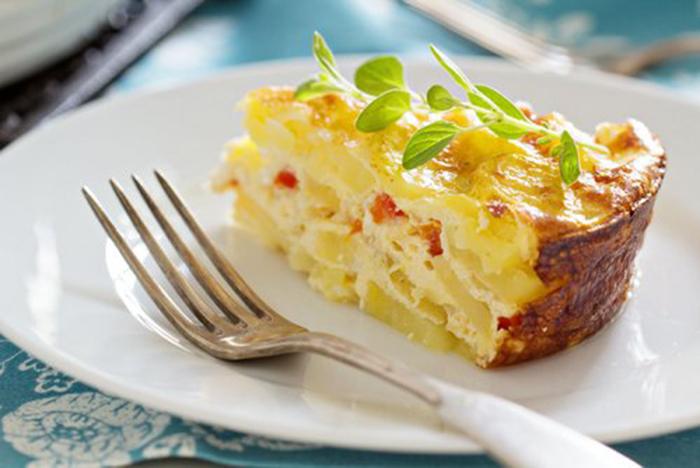 Patatas a la Crema Gratinadas con Queso