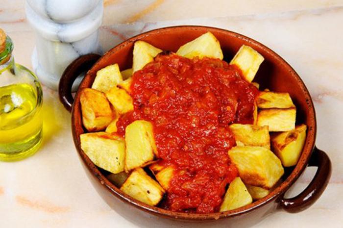Patatas Bravas Tradicionales