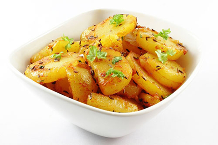 Patatas Fritas con Ajo y Perejil
