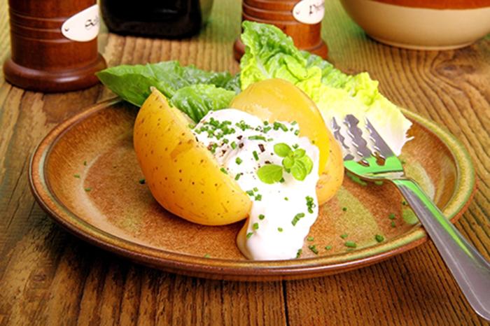 Patatas Rellenas con Requesón