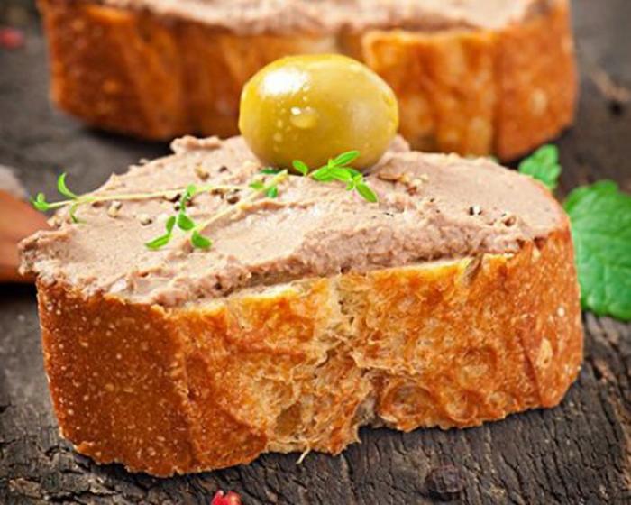 Paté de Pollo Casero