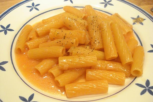 Penne Gialle (Macarrones Amarillos)