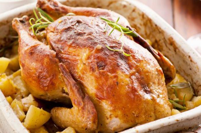 Pollo Asado Fácil con Patatas