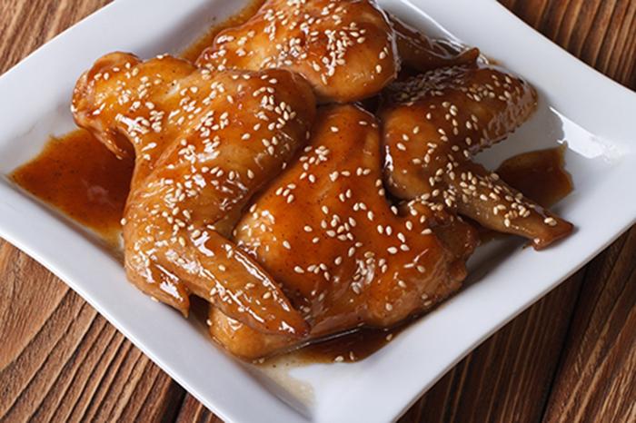 Pollo Chino a la Miel con Sésamo