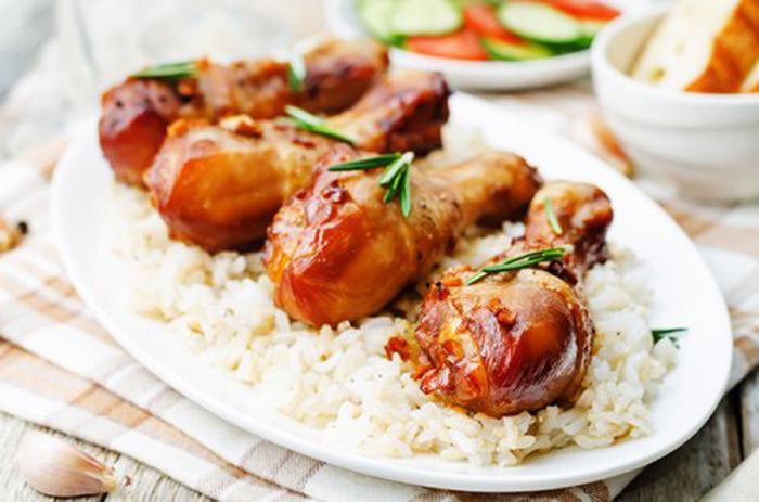 Pollo con Soja y Miel