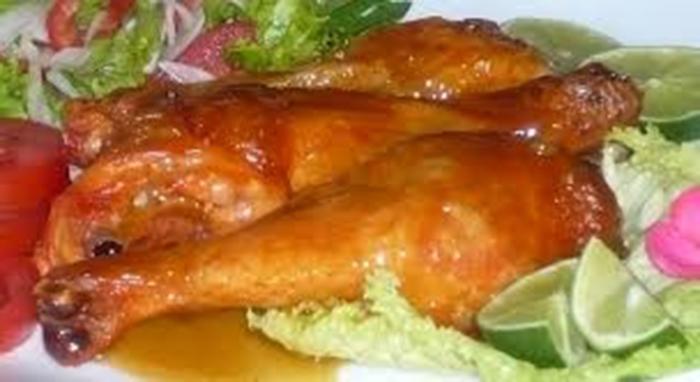 Pollo en salsa de maracuya