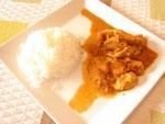 Pollo Satay con Arroz.