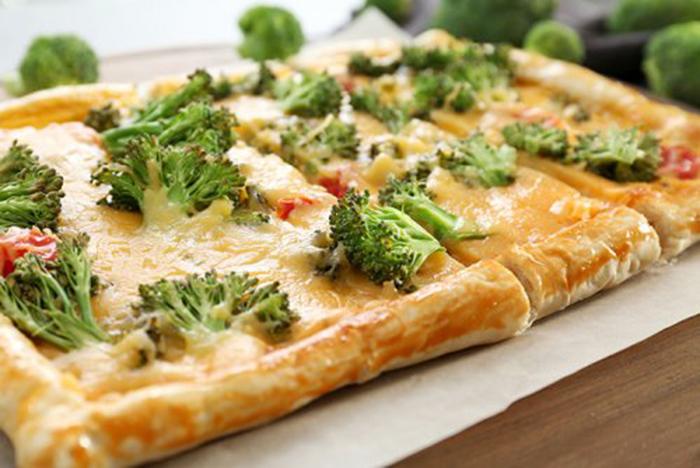 Quiché con Brócoli y Queso