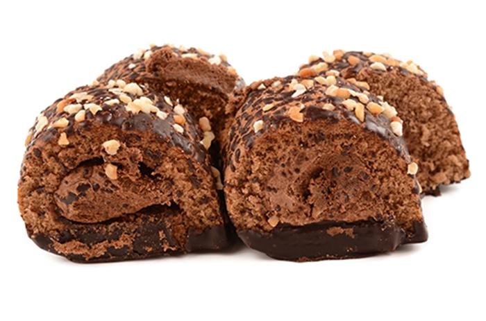 Rollo de Chocolate y Nueces