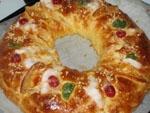 Roscon de Reyes (Thermomix).