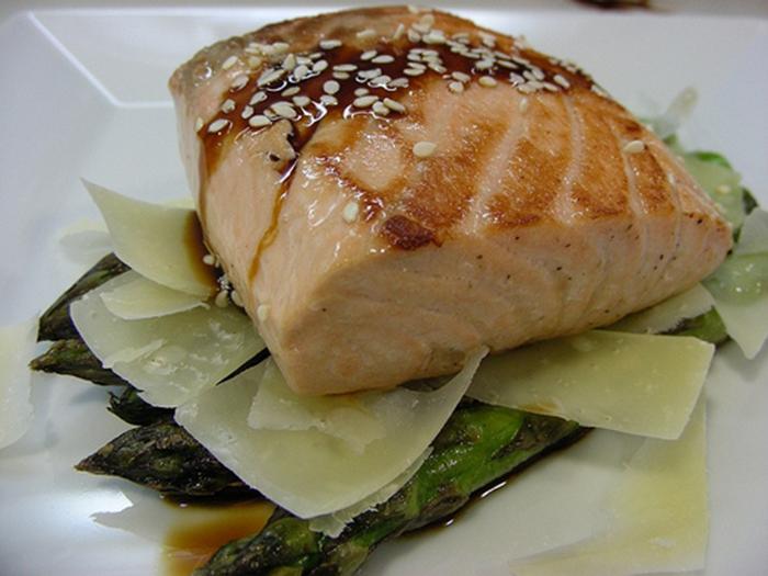 Salmon al Horno en Papillote