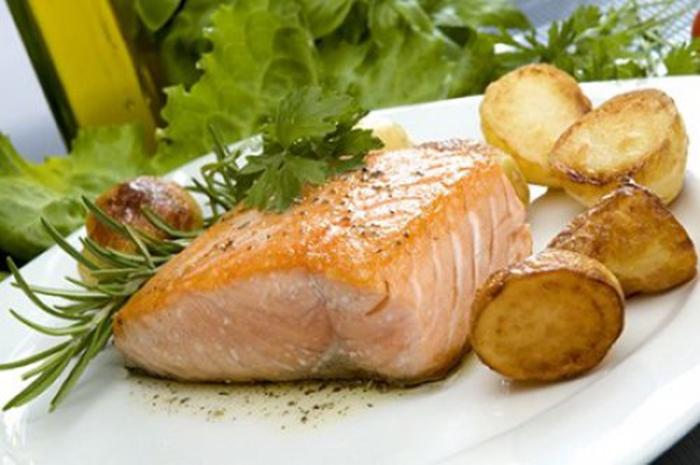 Salmon al Horno.