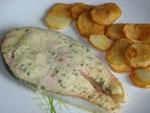Salmon con Salsa de Mostaza y Miel.