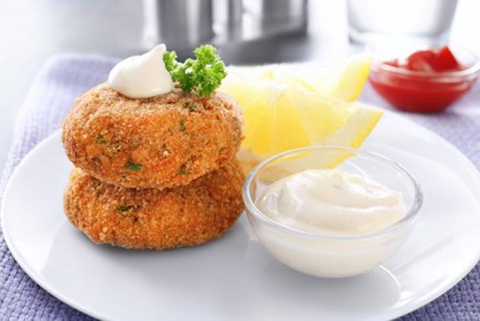 Salmón Empanado