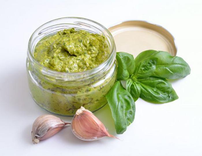 Salsa Pesto Fácil