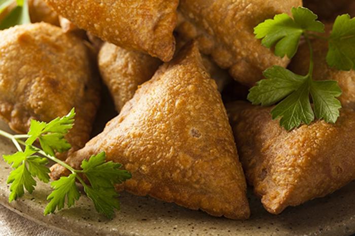 Samosas Empanadillas de Patata de la India