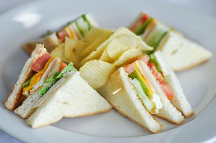 Sándwich Club Saludable