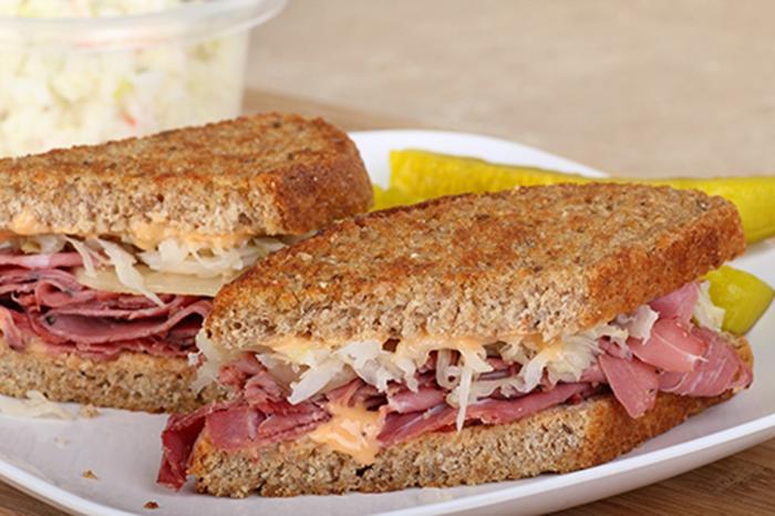 Sándwich Reuben