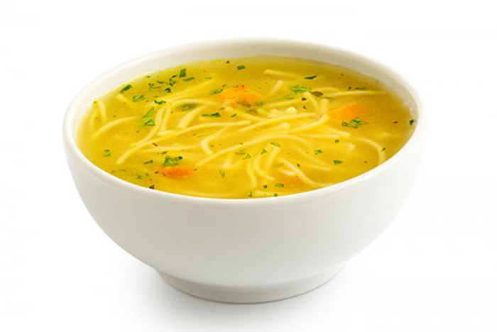 Sopa de Pollo con Noodles