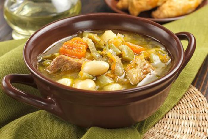 Sopa de Verduras con Carne