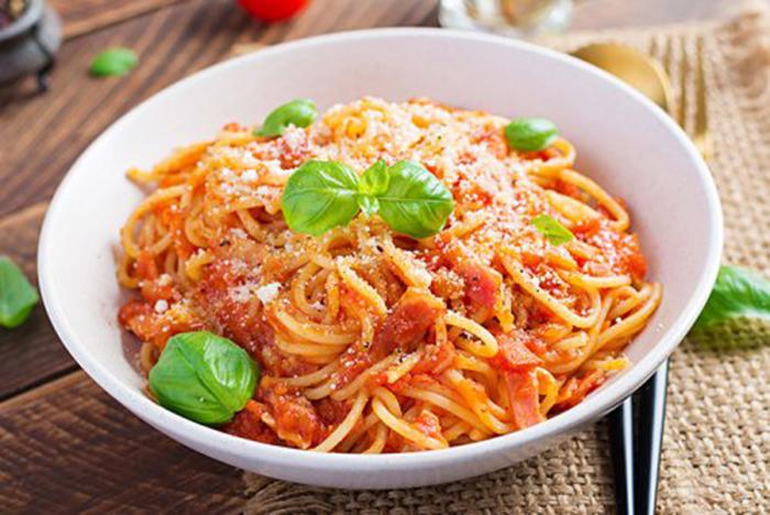 Spaguetti Alla Amatriciana