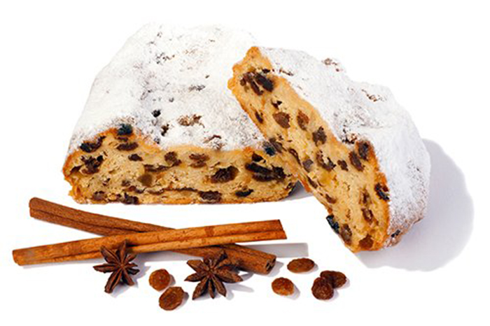 Stollen Postre Típico Alemán