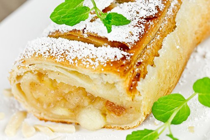 Strudel de Manzana