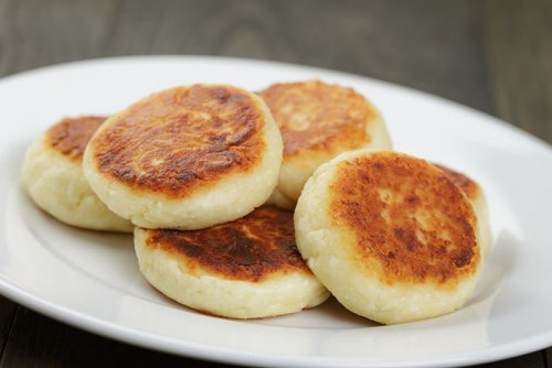 Syrniki, Tortitas de Requesón Rusas