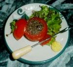 Tapa de Tomates con Anchoa.