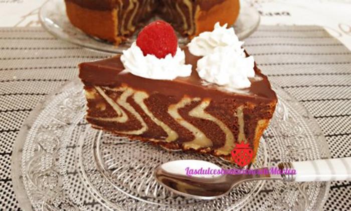 Tarta Amarmolada con Chocolate