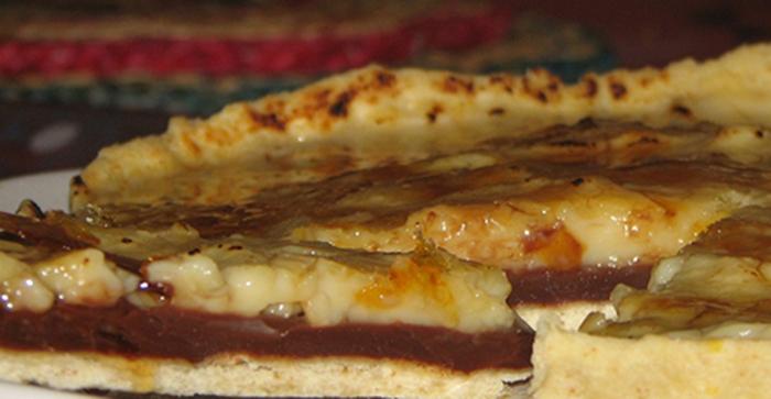 Tarta de Chocolate y Crema.