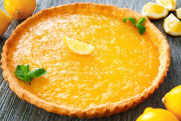 Tarta de Crema de Limón casera