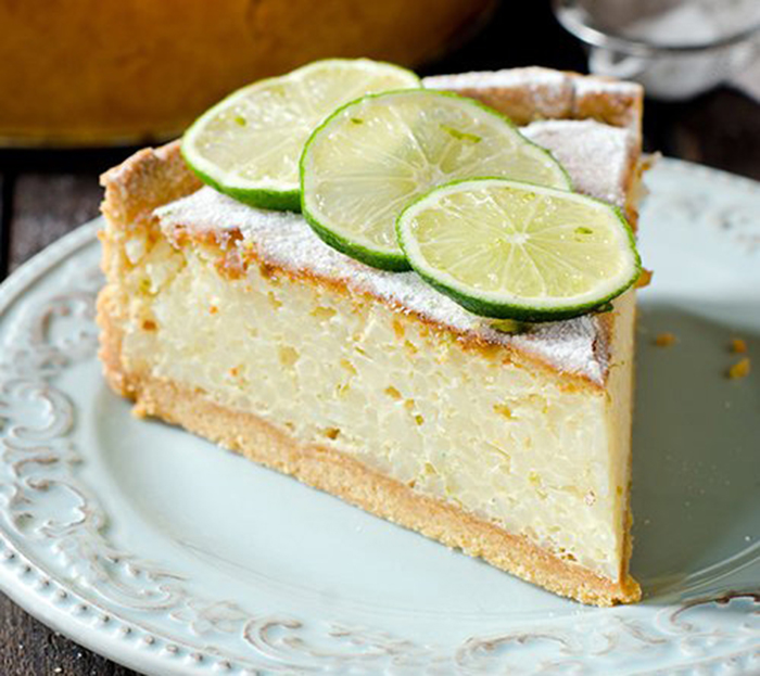Tarta de Crema y Limón