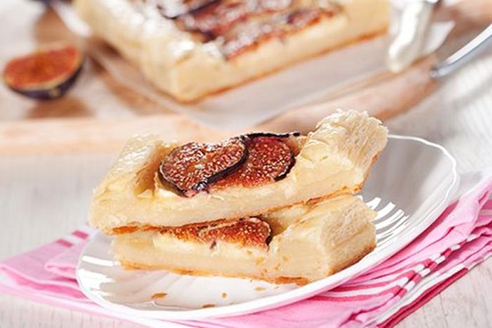 Tarta de Higos, Queso y Miel