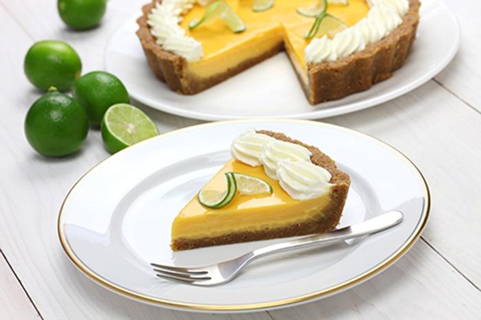 Tarta de Lima Key Lime Pie