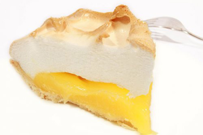 Tarta de Limón y Merengue Gratinado