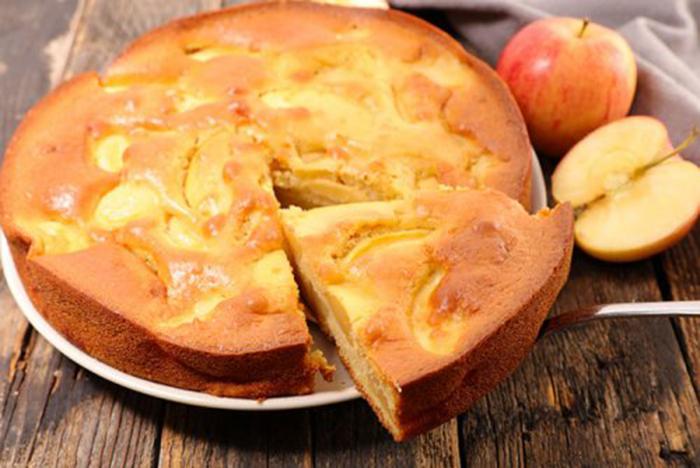Tarta de Manzana con Pocos Ingredientes