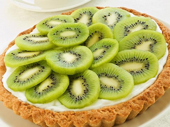 Tarta de Mascarpone y Kiwi