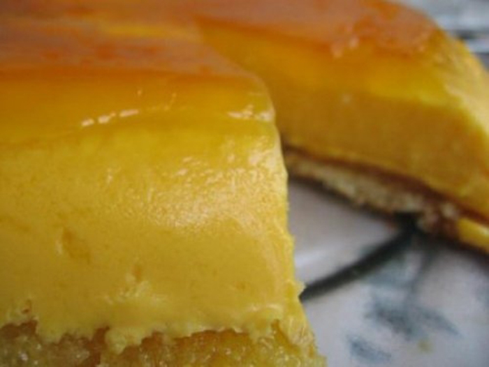 Tarta de Naranja y Sobaos