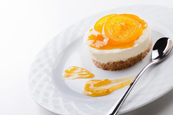 Tarta de Queso con Mermelada de Naranja