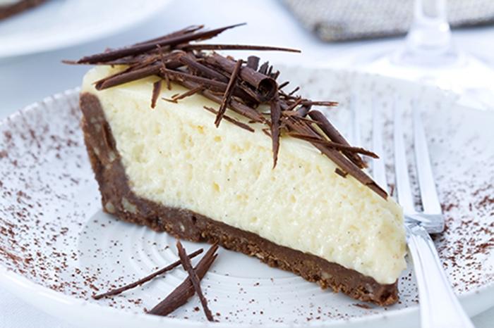 Tarta de Queso y Limón con Chocolate